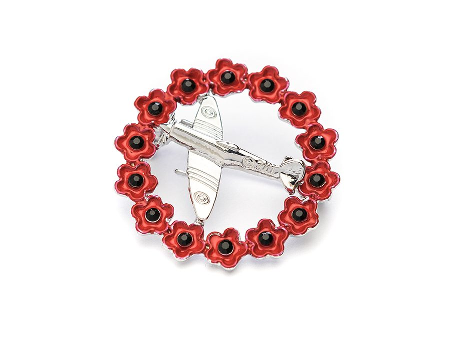 Autumn heralds the arrival of our new Poppy brooch range